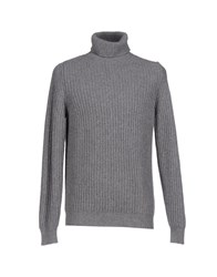 Kaos Knitwear Turtlenecks Men Grey