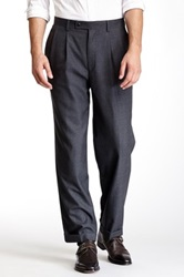 Louis Raphael Super Fine Merino Wool Pant Gray