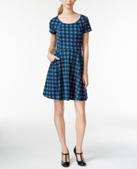 Maison Jules Floral Print Fit And Flare Dress Only At Macy's