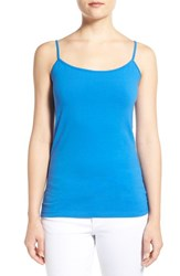 Women's Halogen 'Absolute' Camisole Blue Boat