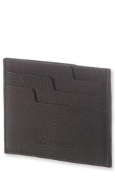 Moleskine Men's Moleskin Lineage Leather Card Case Black