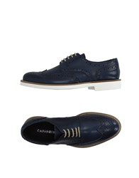 Cafe'noir Cafenoir Footwear Lace Up Shoes Men Dark Blue