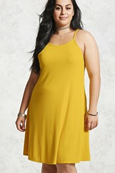Forever 21 Plus Size Ribbed Swing Dress