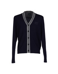 Henry Cotton's Cardigans Dark Blue