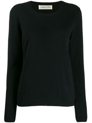 Lamberto Losani Colour Block Jumper Black