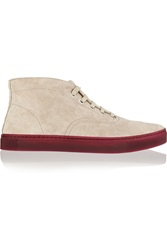 Alexander Wang Jess Suede High Top Sneakers