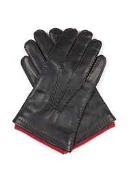 Dents Westminster Cashmere Knit Lined Leather Gloves