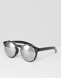 Jeepers Peepers Round Sunglasses Black