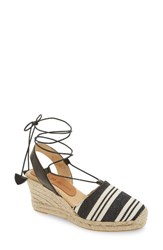 Patricia Green Women's Tessa Ankle Wrap Espadrille Wedge