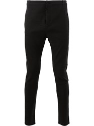 Label Under Construction Skinny Trousers Black