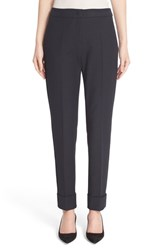 Women's Armani Collezioni Tech Cotton Cuff Ankle Pants
