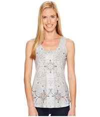 Aventura Clothing Poet Tank Top High Rise Women's Sleeveless Silver