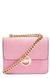 Topshop Clean Rae Crossbody Bag Pink