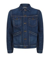 Tom Ford Denim Jacket Male Blue