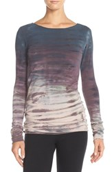 Women's Hard Tail Tie Dye Long Skinny Tee