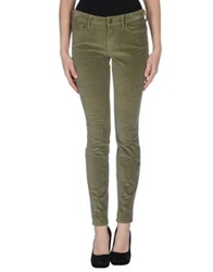True Religion Casual Pants Military Green