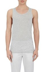 Atm Anthony Thomas Melillo Men's Modal Jersey Tank Grey