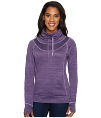 Kuhl Leatm Pullover Viola Women's Long Sleeve Pullover Purple