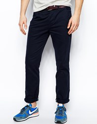 New Look Chinos In Straight Fit Navy