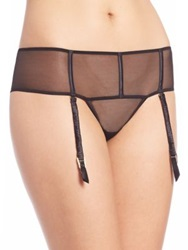 Addiction Glamour Thong Garter Black