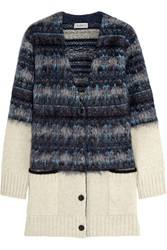 Mulberry Fair Isle Knitted Cardigan