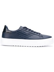 Emporio Armani Ea7 Low Top Sneakers Blue