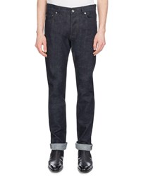 Berluti Straight Leg Cotton Jeans Indigo