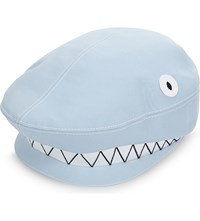 Thom Browne Shark Flat Cap Light Blue