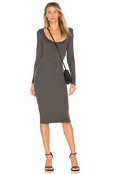 Riller And Fount Lottie Dress Charcoal