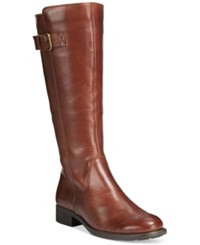 Bare Traps Ruthie Riding Boots Women's Shoes Dark Brown