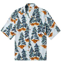 Acne Studios Simon Pine Vacation Shirt Blue