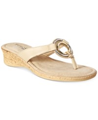 Easy Street Shoes Tuscany Fina Sandals Women's Natural