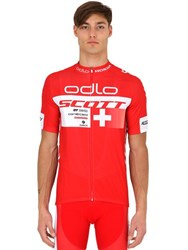 Odlo Scott Racing Zip Up T Shirt