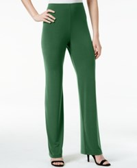 Alfani Knit Wide Leg Trousers Only At Macy's Melon Rind