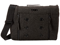 Ogio Midtown Messenger Dark Gray Felt Messenger Bags Black