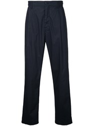 Closed Tailored Trousers Men Cotton 30 Blue
