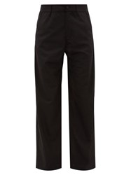 Hope Wind Tailored Twill Trousers Black