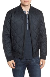 Marc New York By Andrew Fletcher Quilted Bomber Jacket Black