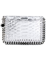 Stella Mccartney 'Falabella' Card Holder Metallic