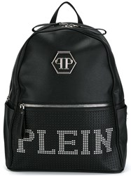 Philipp Plein 'New Rose' Backpack Black