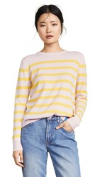 Kule The Cashmere Skate Sweater Pink Lemon