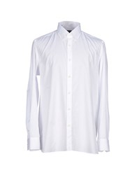 Luigi Borrelli Napoli Shirts Shirts Men White