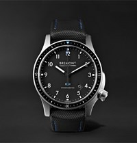 Bremont Model 1 Ss Bk Automatic Chronometer 43Mm Stainless Steel Watch Black