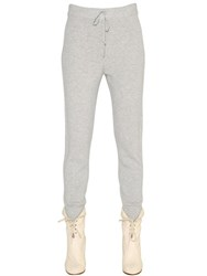 Chloe Cashmere Knit Jogging Pants