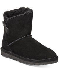 Bearpaw Women's Margaery Cold Weather Booties Women's Shoes Black