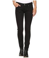 Rock And Roll Cowgirl Low Rise Skinny Jeans In Black W0s9631 Black Women's Jeans