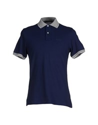 Nardelli Topwear Polo Shirts Men Dark Blue