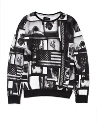 Religion Sweatshirt With All Over Print