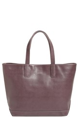 Matt And Nat 'Schlepp' Faux Leather Tote Brown Fig