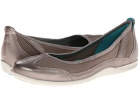 Ecco Bluma Summer Ballerina Moon Rock Women's Shoes Gray
